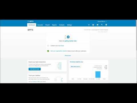Xero Software Tutorial #7 - Editing Supplier Contacts