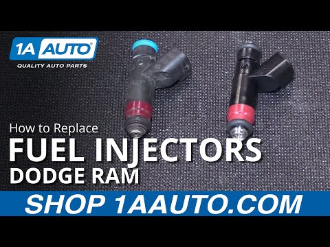 How to Install Replace Fuel Injectors 2004-08 Dodge Ram 5.7L BUY QUALITY AUTO PARTS AT 1AAUTO.COM