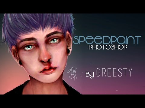 Nosebleed- Photoshop Speedpaint