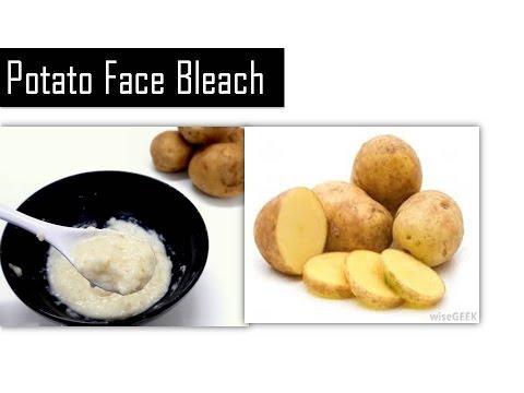 Potato for Face bleach  | skin whitening  in 1 week & remove black marks, dark spots