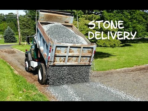 Stone Delivery by North Brunswick Construction Materials