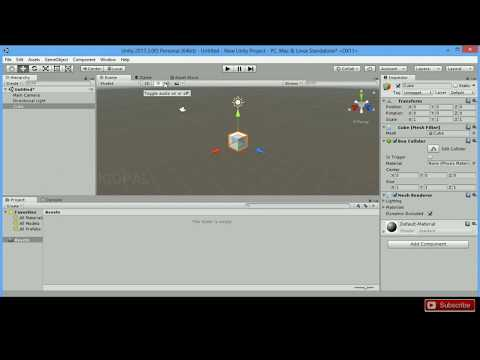 Unity 3d - Auto Rotating Game Object Using C# Script.
