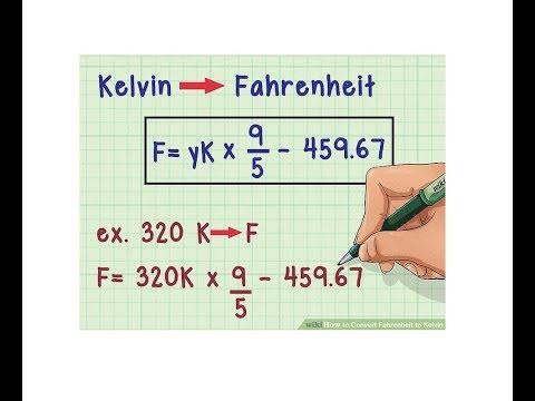 Escalas de temperatura: Kelvin a Fahrenheit