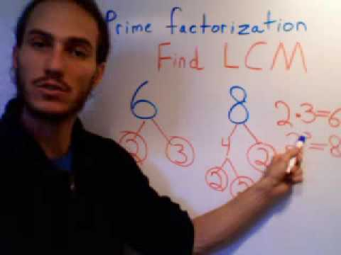 Prime Factorization to Find the LCM
