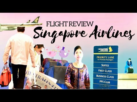 SINGAPORE AIRLINES FLIGHT REVIEW ✈️ // Economy Class  #TheWickeRmoss