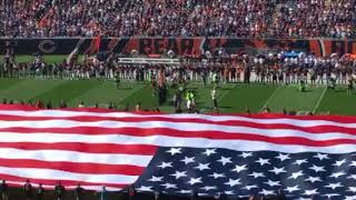 National Anthem: Steelers at Bears on Sept. 24