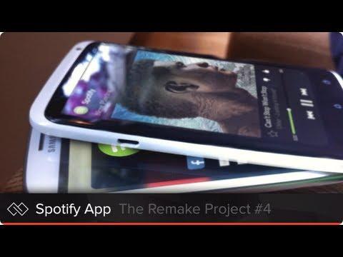 Spotify App - The Remake Project #4 - Mark van Leeuwen