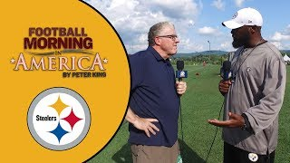Steelers' Mike Tomlin reflects on his time in Pittsburgh, AFC North challenges | NFL | NBC Sports