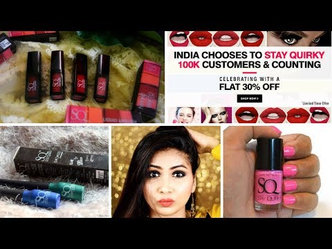 Bumper Offer - 40% off on ALL Stay Quirky Makeup Products - Affordable Makeup Products-Offer Limited