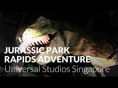 Jurassic Park Rapids Adventure - Universal Studios Singapore