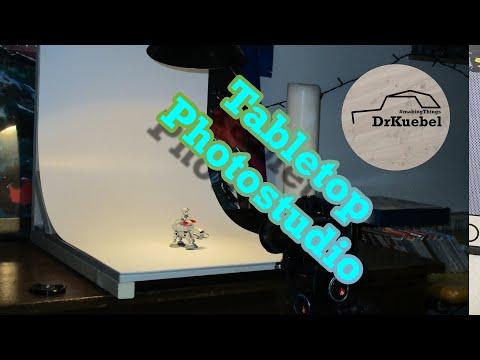 Small DIY Tabletop Photo Studio for few bucks