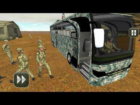 Xxx Mp4 बस वाला गेम डाउनलोड करना है Army Bus Driving 2017 Military Coach Transporter 3gp Sex