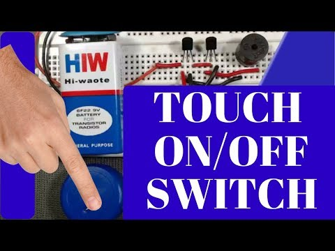 how to make a simple touch switch circuit