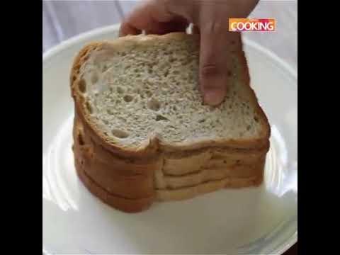 Bread badam cake.... At home... Easy way...yummy taste