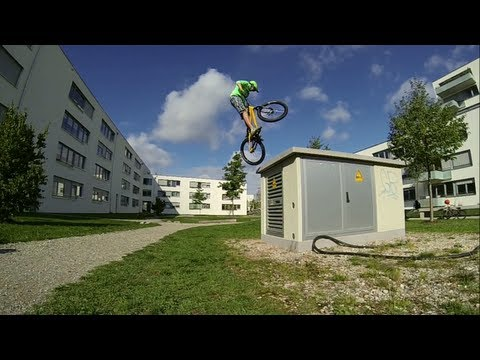 Lukas Spindler - Street trial Summer 2013 Inspired Bicycles