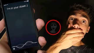 DO NOT RECORD YOURSELF SLEEPING AT 3 AM NEXT TO SIRI OR THIS WILL HAPPEN! (SIRI IS IN MY ROOM)