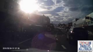 Car Flips on Victoria Rd Sydney