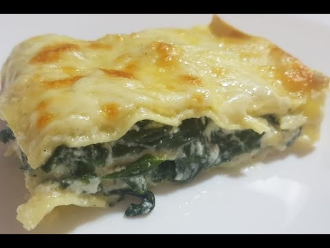 Easy Lasagna with Spinach Recipe