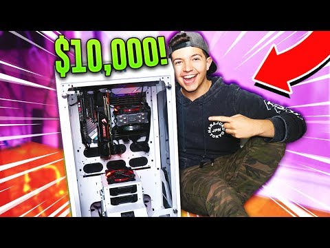 BUILDING A $10,000 GAMING PC!