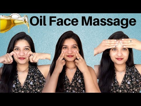 Face massage routine in Hindi | coffee oil facial massage | Anti aging massage for clean skin | AVNI