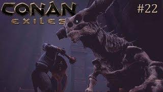 Conan Exiles - Building a Jungle Cliff Castle (Speed Build)