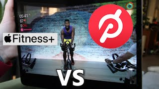 Apple Fitness Plus vs Peloton Digital App - CYCLING section only