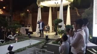 יניב בן משיח ומקהלת הילדים מלאכי שמיים בחופה מרגשת עם השיר להינשא הלילה