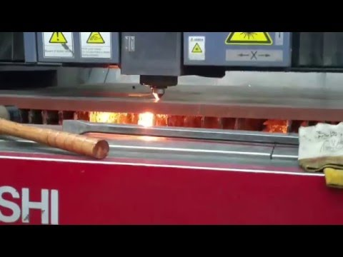 Mitsubishi 4000 Watt Laser cutting 1