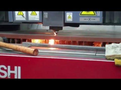Mitsubishi 4000 Watt Laser cutting 1