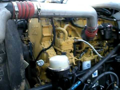 CAT C15 twin turbo