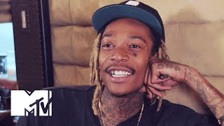 Wiz Khalifa Tries His Hand At Our Spelling Z Mtv News