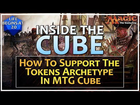 How to Support the Tokens Archetype In MTG Cube - Inside the Cube: Episode 8