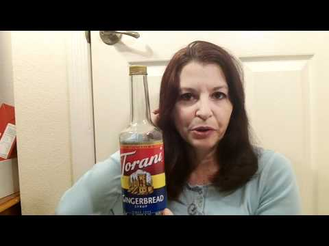 Torani coffee and beverage syrup Video review