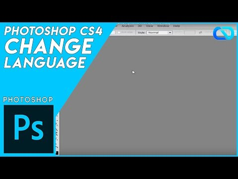 HOW TO CHANGE LANGUAGE IN PHOTOSHOP [Works with CC, Win, Mac]