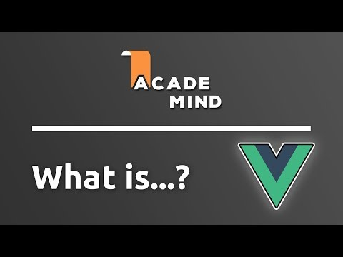 What is Vue.js - academind.com Snippet