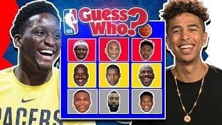 NBA Guess Who Game vs. Victor Oladipo *CRAZY ENDING*