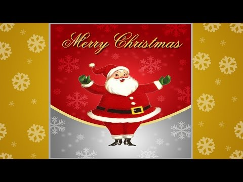 How to create a Christmas Greeting Card in Photoshop ( with ESubs )