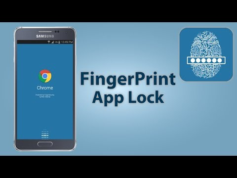 FingerPrint App Lock For GALAXY Alpha / S5 /Note 4 / S6
