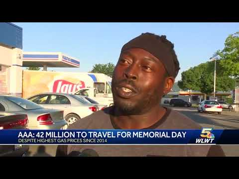 AAA: 42 million to travel for Memorial Day despite high gas prices