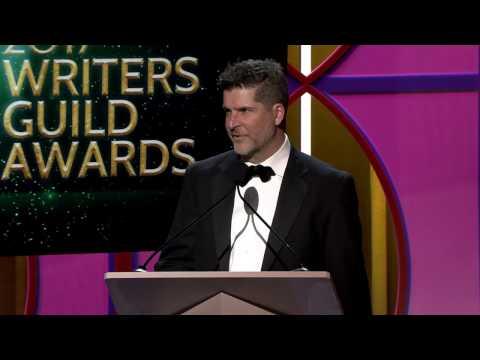 The 2017 Writers Guild Award for Animation goes to BoJack Horseman's Joe Lawson