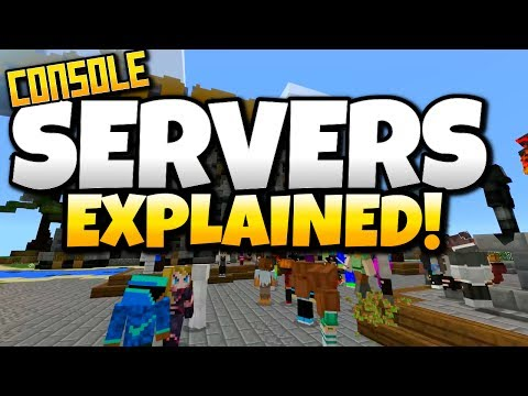 Minecraft CONSOLE SERVERS EXPLAINED! COMING SOON FOR Windows 10, iOS, Android, Xbox One, Switch