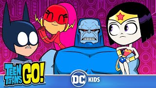 Teen Titans Go! | Teen Justice League Rescue The Justice League!