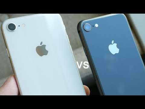 iPhone 8: Black or White? Space Gray vs Silver!
