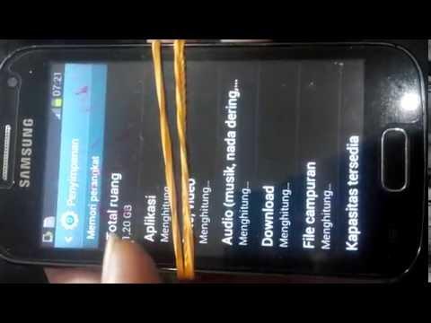 Samsung galaxy ace 2 GT-i8160 12GB internal memory