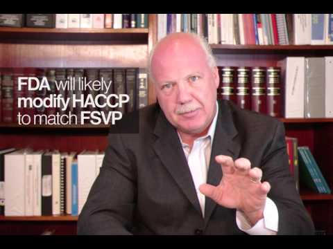 FSVP Overview: Seafood and Juice HACCP