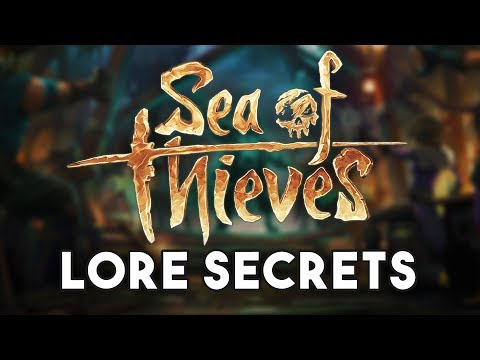 Sea of Thieves Lore Book Reveals Skeleton Lords, Tavern Games, and Pets!!