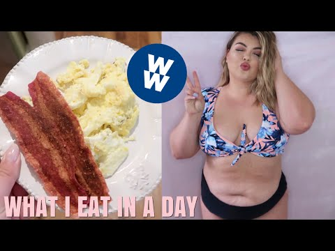 WHAT I EAT IN A DAY ON WEIGHT WATCHERS
