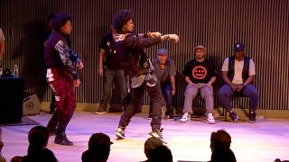 LES TWINS vs KNUCKLE NECK TRIBE | City Dance Live | Battle at SF Jazz
