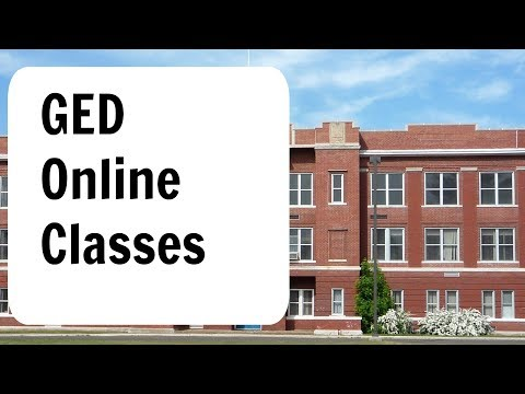 GED Online Classes WARNING MUST WATCH