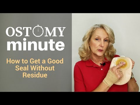 Ostomy Minute  - Creating a Good Seal Without Skin Residue